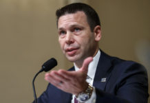 Acting Secretary of Homeland Security Kevin McAleenan