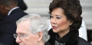 Elaine Chao and her husband, Senate Majority Leader Mitch McConnell