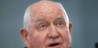 Agriculture Secretary Sonny Perdue