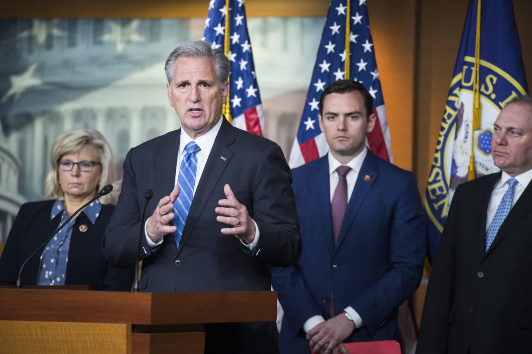 GOP Reps Liz Cheney, Kevin McCarthy, Mike Gallagher, Steve Scalise