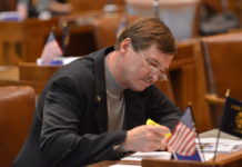 Oregon State Sen. Brian Boquist