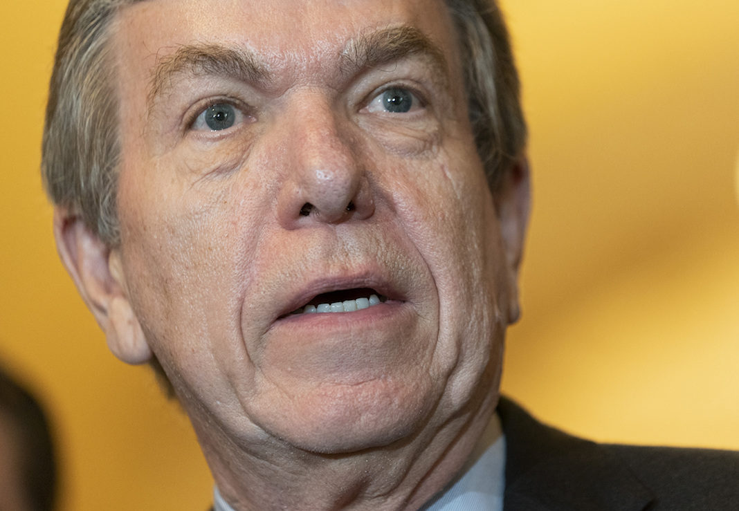 Republican Sen. Roy Blunt
