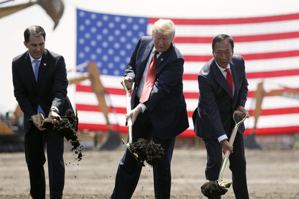 Wisconsin: Trump's Foxconn deal hurt our state and we probably can't fix it