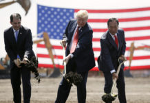 Donald Trump, Scott Walker, Terry Gou