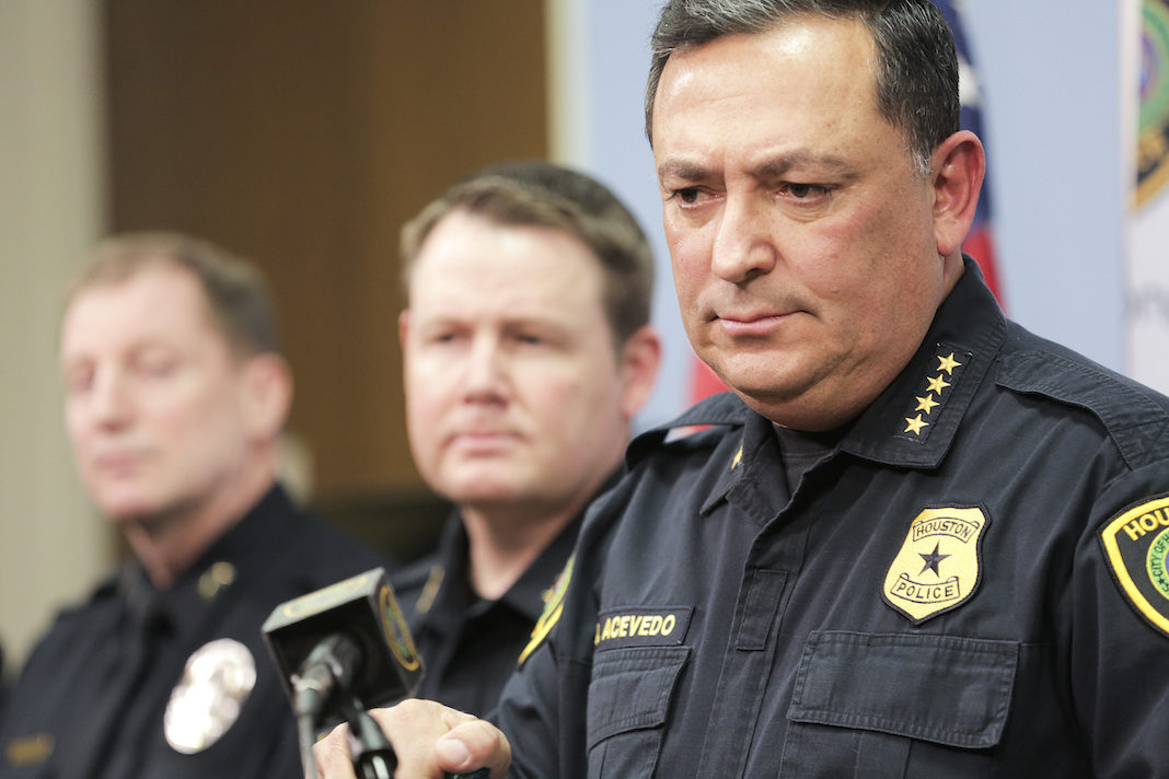 Houston Police Chief Art Acevedo