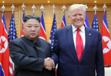 Kim Jong Un with Trump