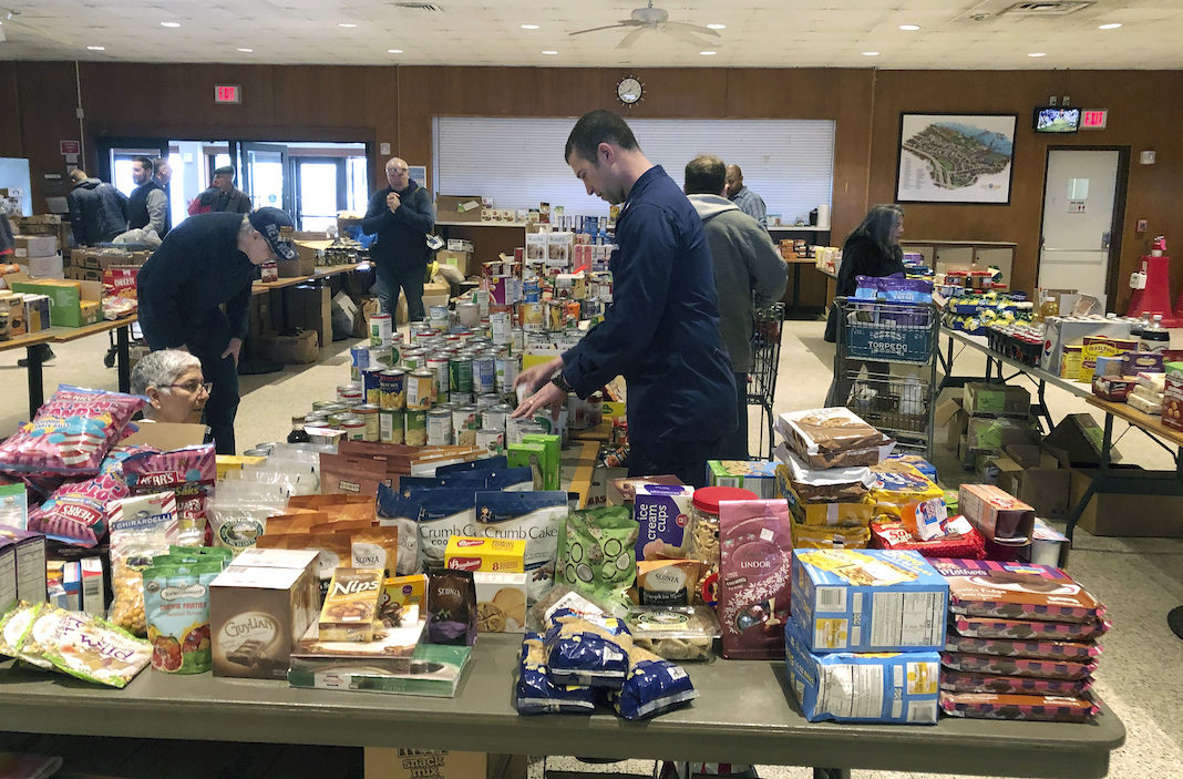 Coast Guard food banks during shutdown