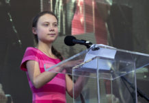 Swedish environmental activist Greta Thunberg