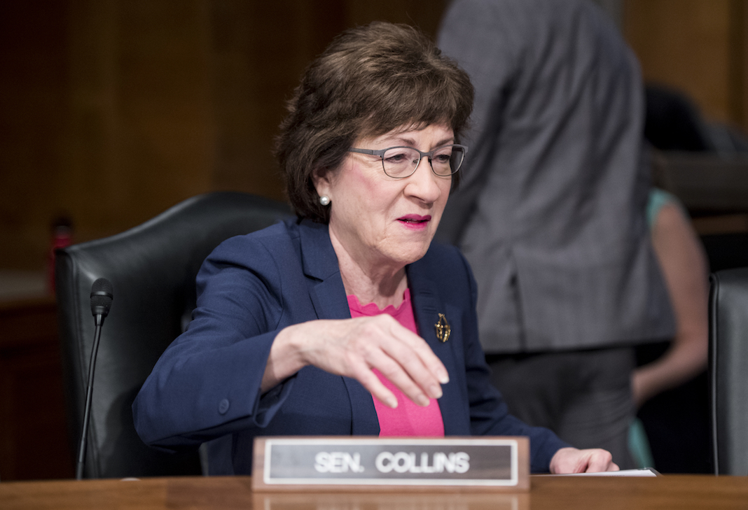 Susan Collins caught lying about donations from opioid industry