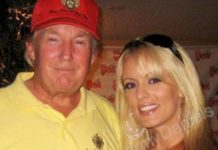 Trump with Stormy Daniels