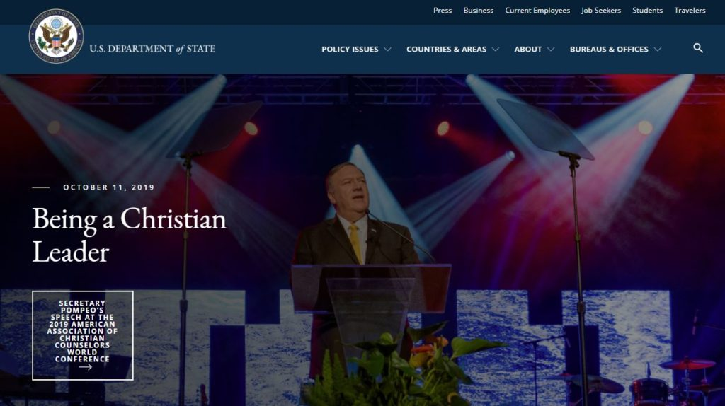 Being a Christian Leader