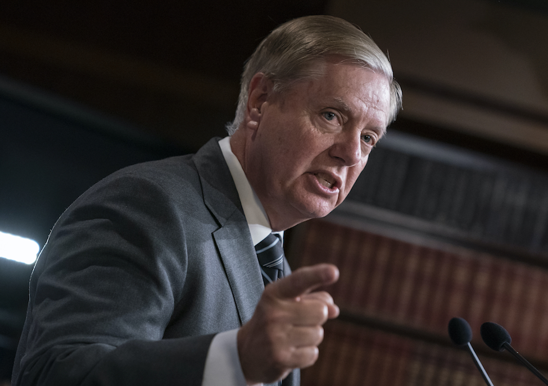 Republican Sen. Lindsey Graham of South Carolina