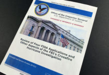 Justice Department inspector general report, Russia probe, FISA