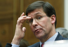 Secretary of Defense Mark Esper