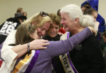 Equal Rights Amendment supporters