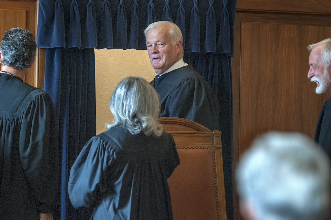 New Mexico Supreme Court Justice Gary Clingman
