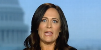 White House press secretary Stephanie Grisham
