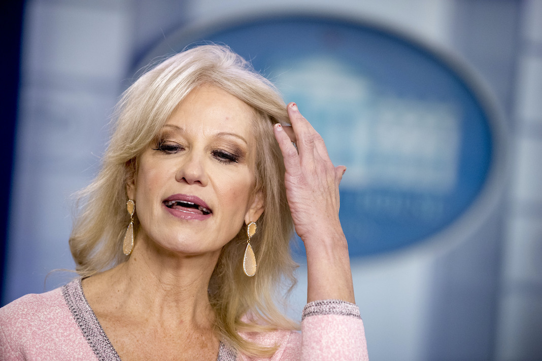White House counselor Kellyanne Conway