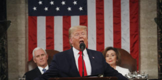 Donald Trump delivers his State of the Union