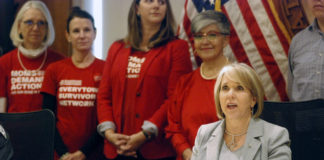 New Mexico Gov. Michelle Lujan Grisham, Red Flag gun law