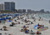 Virus Outbreak Florida Beaches