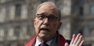 White House chief economic adviser Larry Kudlow