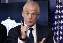 White House trade adviser Peter Navarro