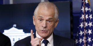 Former White House trade adviser Peter Navarro