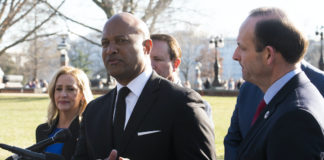 Indiana Attorney General Curtis Hill with Republican attorneys general