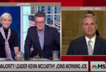 Kevin McCarthy on Morning Joe