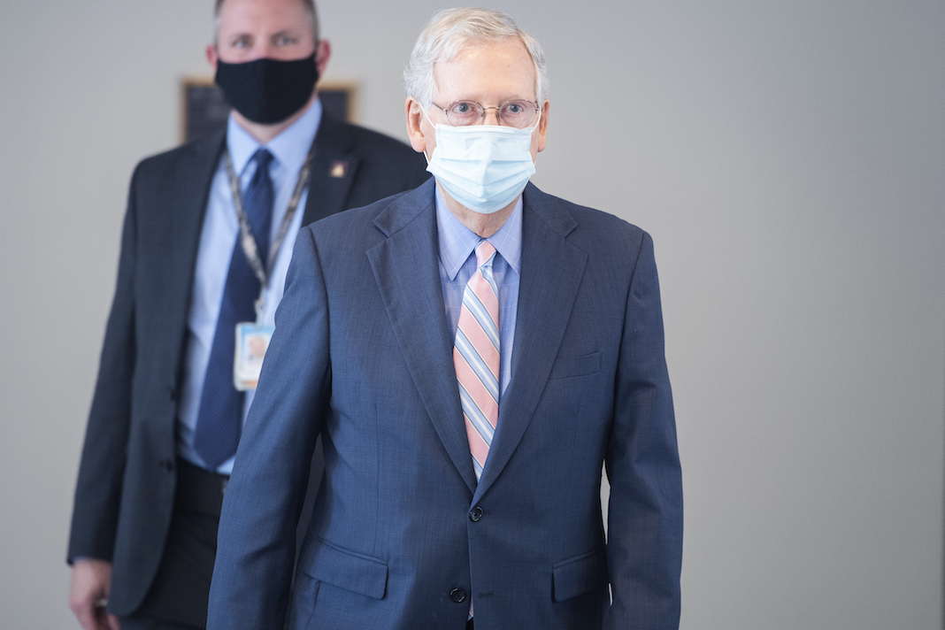 Mitch McConnell mask