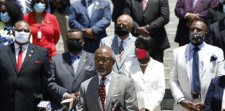 Rep. Robert Johnson and Mississippi Black Legislative Caucus