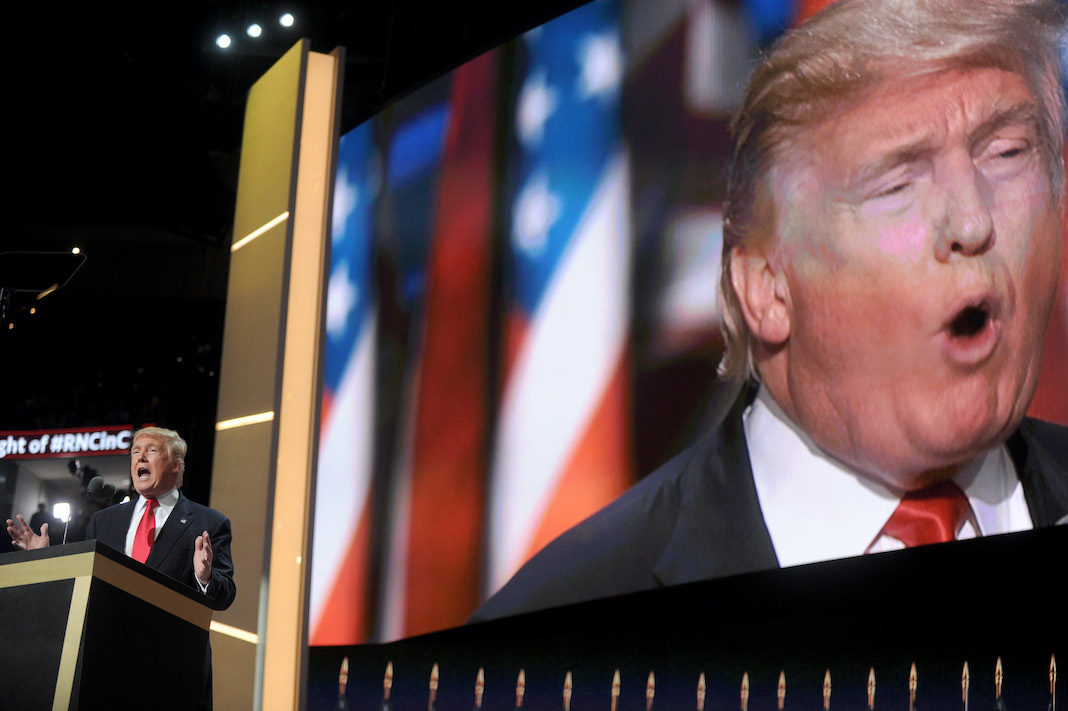 Donald Trump at Republican National Convention 2016