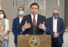 Florida Republican Gov. Ron DeSantis