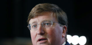 Mississippi Gov. Tate Reeves