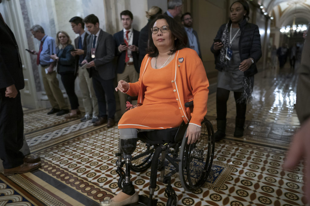 Tammy Duckworth fires back after Fox accuses her of hating America