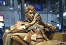Statue of Rep. Barbara Jordan
