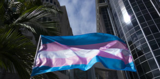 Transgender rights flag