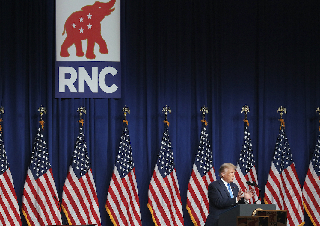 Donald Trump at the Republican National Convention