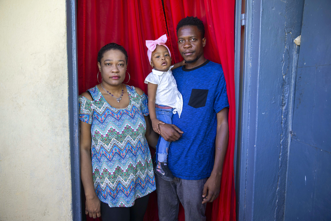 Haitian family that was held in hotel in Texas