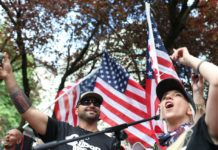 Joey Gibson Patriot Prayer