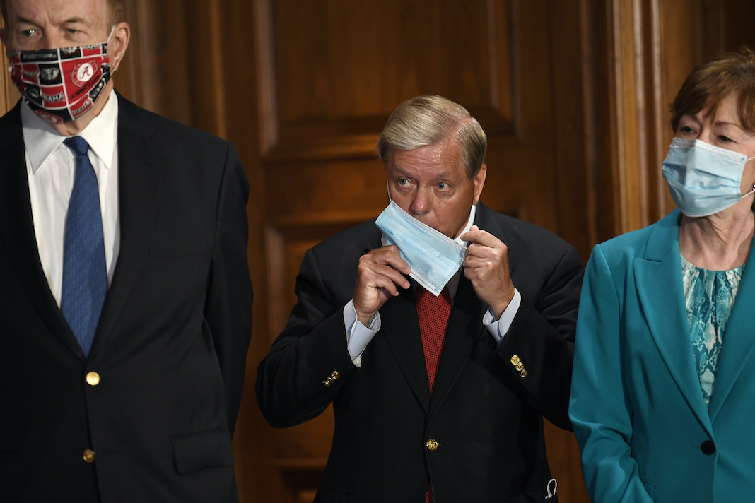 Richard Shelby, Lindsey Graham, Susan Collins