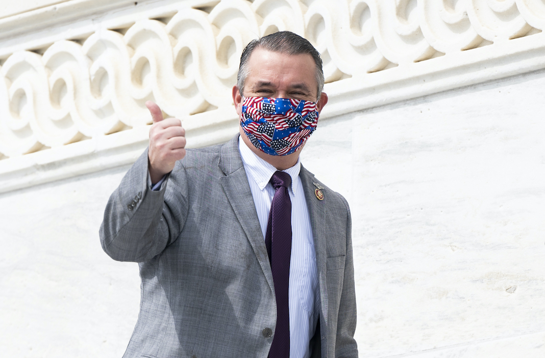 Rep. Don Bacon in mask