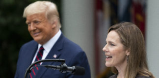 Donald Trump, Amy Coney Barrett