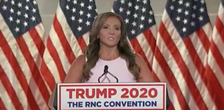 Amy Ford at the Republican National Convention