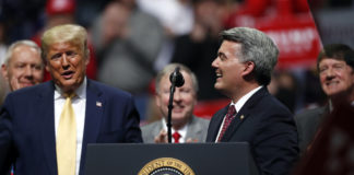 Donald Trump and Cory Gardner