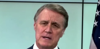 Georgia Republican Sen. David Perdue