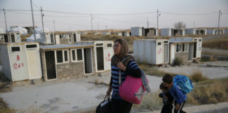 Christian Syrian family flees Turkish invasion, Oct. 17, 2019