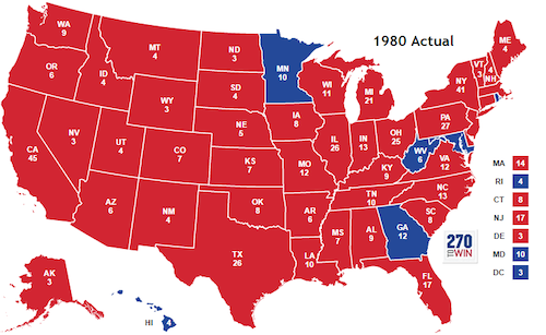 1980 election map