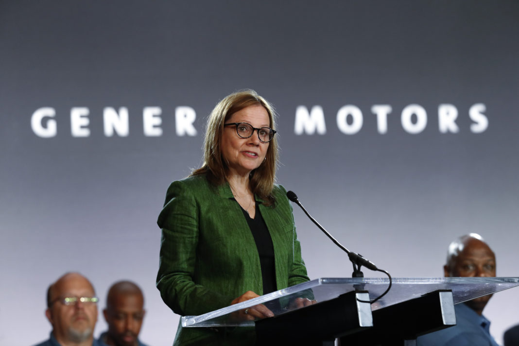 General Motors Chair and Chief Executive Officer Mary Barra